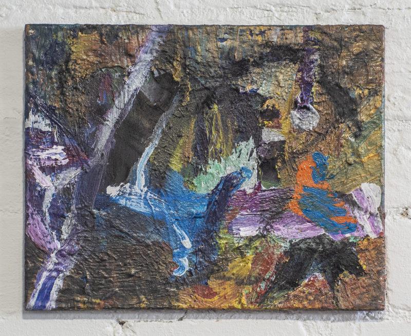 maalaus öljyväri hiili